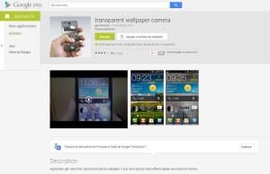 Transparent Wallpaper: la classe sur Android. Et sur iOS?