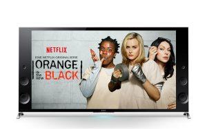 Sony, partenaire de Netflix pour vendre des TV 4K.