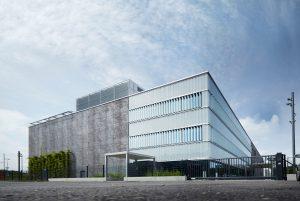 Le nouveau centre de calcul de Swisscom à Berne-Wankdorf.