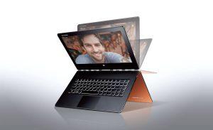 Le Lenovo Yoga 3 Pro qui utilise un Core M devrait gagner en autonomie avec Windows 10.