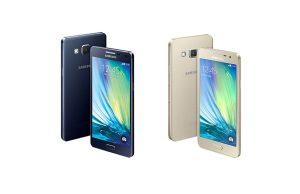 Samsung Galaxy A5 et A3.