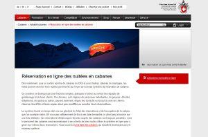 Les cabanes du CAS cartonnent sur internet.