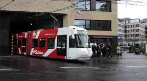 Huawei veut se faire connaitre en Suisse.