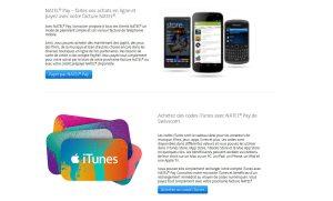 Natel Pay désormais proposé avec iTunes.
