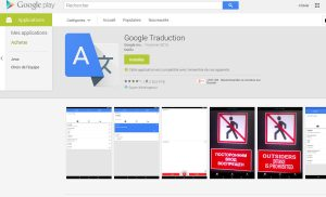 Nouvelle mise à jour de Google Traduction.