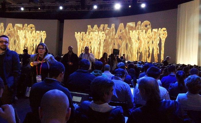 Le show du lancement du Galaxy S6.