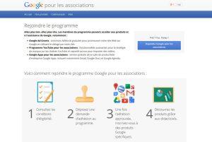 Google for Nonprofits en Suisse.