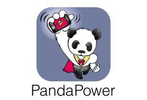 L'application Panda Power. Secouez pour recharger!