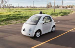 Une voiture Google autopilotée au magnifique design...