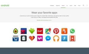 Que d'applications sur Android Wear!
