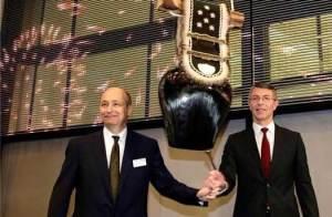 Dominik Koechlin (à gauche) et Libor Voncina, CEO de Sunrise.
