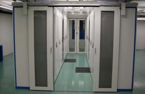 Un centre de données. UPC Cablecom a déjà économisé en 2014 l'équivalent énergétique de 320 ménages suisses.