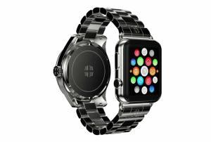 L'Apple Watch rehaussée d'un mouvement mécanique...