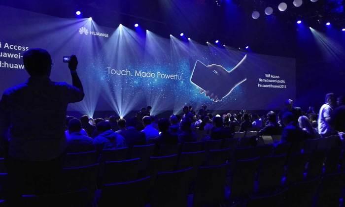 Huawei fait son show à l'IFA 2015 de Berlin.