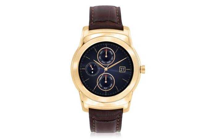 LG Watch Urbane Luxe. L'or à un prix décent.