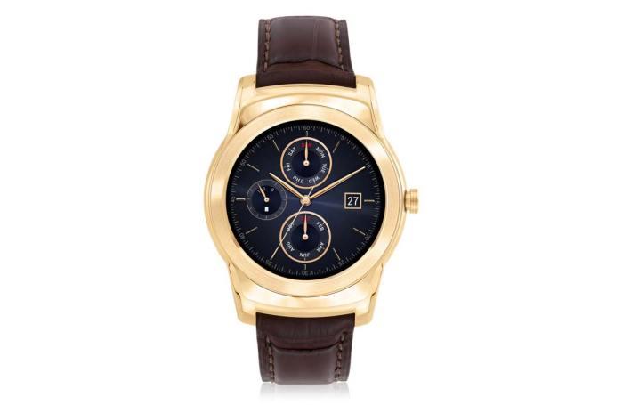 LG Watch Urbane Luxe. L'or à un prix décent.