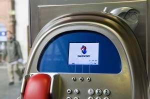 Les cabines téléphoniques bientôt en voie de disparition. Photo: Swisscom.