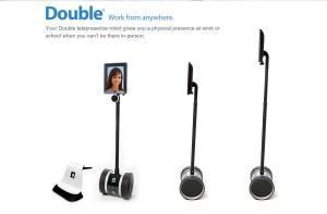 Double: un robot pour la vidéoconférence.