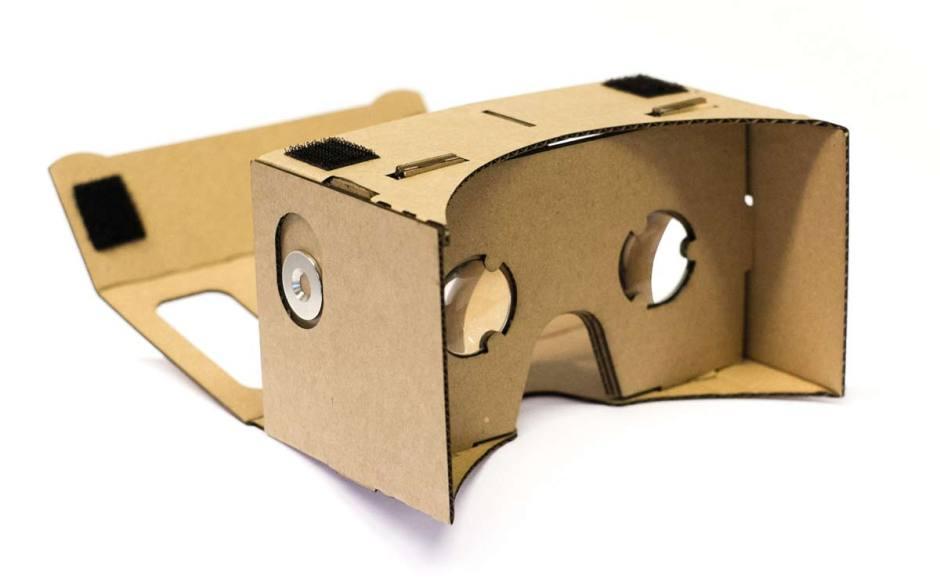 Google Cardboards.