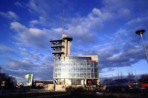 Swisscom à l'EPFL. Une longue histoire; parfois douloureuse... Photo: iBeton / O. Burdet.