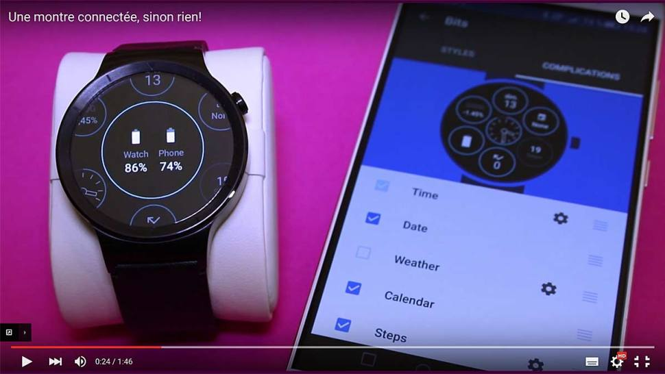 Huawei Watch et Ascend Mate S.