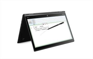 Le Lenovo ThinkPad X1 Yoga.