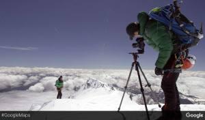 L'ascension du Mont-Blanc par Google.
