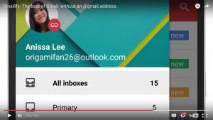 Gmailify de Google. Gmail pour utiliser Outlook.com, par exemple.