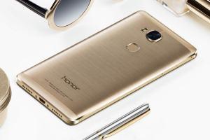 Honor 5X par Huawei: un design soigné.