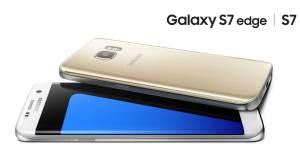Les Samsung Galaxy S7 et Galaxy S7 edge.