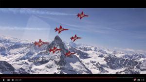La patrouille suisse en 4K.