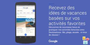 Vacances: Google veut vous aider depuis votre smartphone