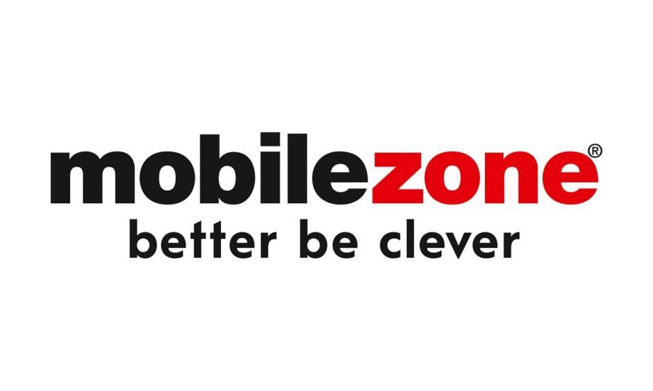 Le logo et le slogan de Mobilezone en Suisse.