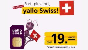 Read more about the article Voici l'abonnement «illimité» Yallo Swiss à 29 francs par mois