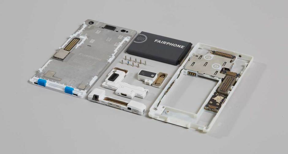 Le Fairphone 2, en vente chez digitec.ch.