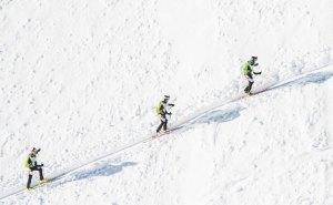 La patrouille des Glaciers avec l'application Swisscom PdG 2016.