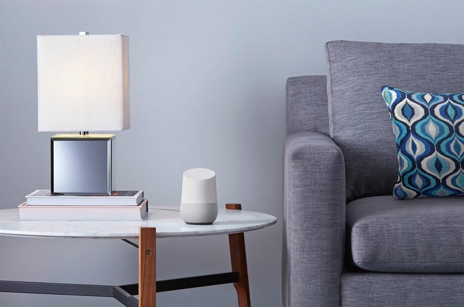 Google Home: apparement inoffensif.