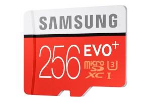 Samsung lancera en Suisse à mi-juin une carte micro-SD de 256 Go