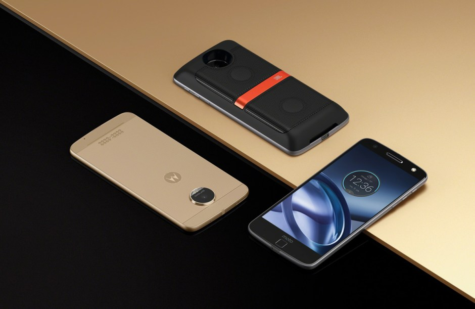 Moto Z Droid Edition.