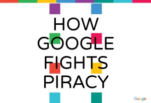 """Commen Google combat la piraterie""."