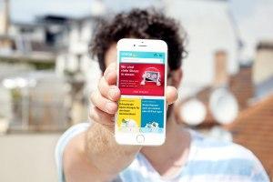 L'application mobile du site de vente en ligne Siroop.ch.