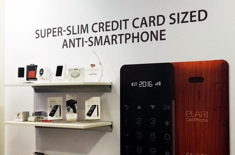 """Elari se positionne sur le """"front anti-smartphone""""."""