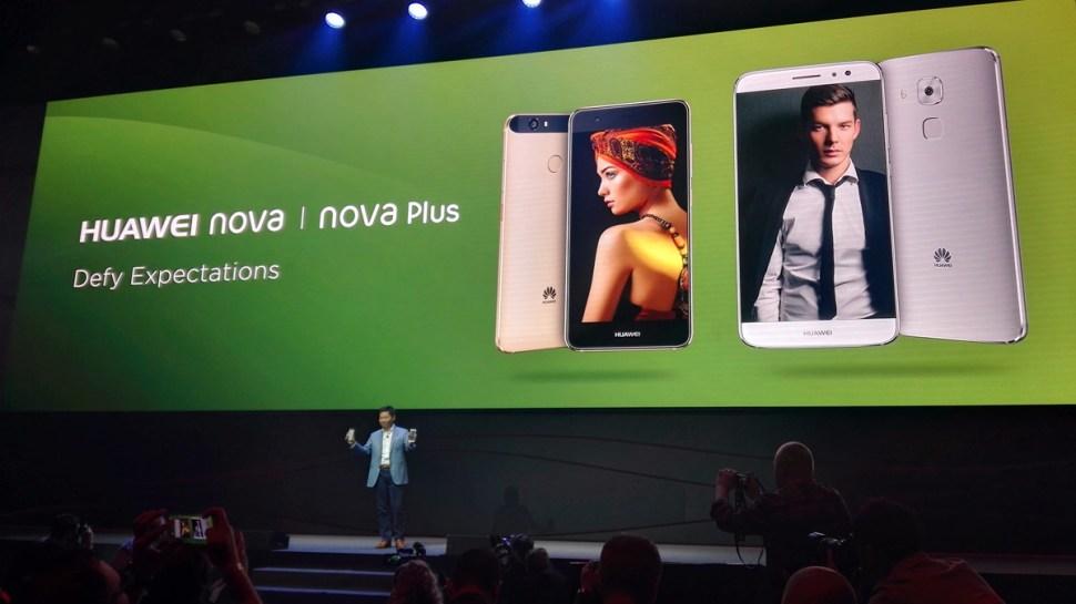Les Nova et Nova Plus présenté à l'IFA 2016 de Berlin.