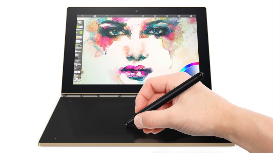 Lenovo Yoga Book.
