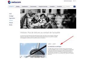 Dépasser la révolution numérique identifiée en 1993-1997 par Swisscom!