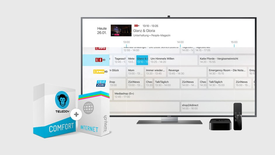 Teleboy Comfort Internet.