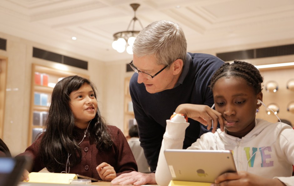 L'«Heure de Code». d'Apple.