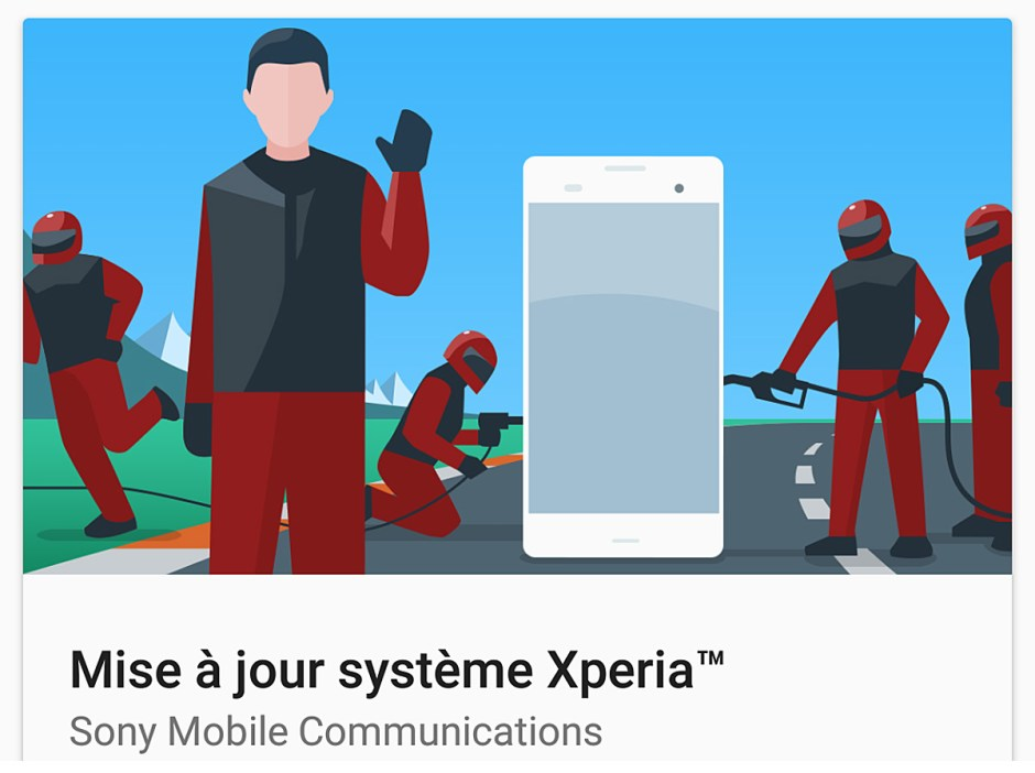 Sony met à jour son Xperia XZ vers Android 7.0, Nougat.
