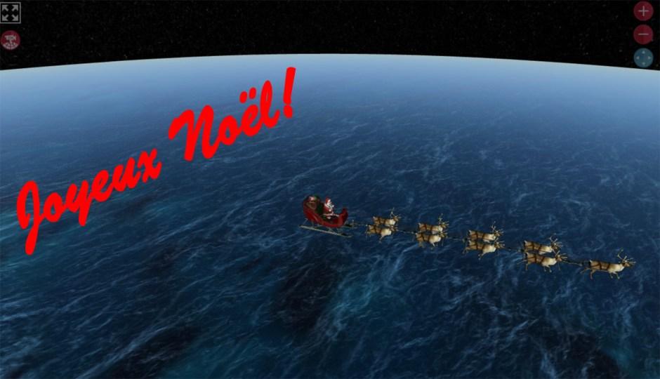Joyeux Noël 2016! Microsoft assure depuis des années une existence numérique au Père Noël.