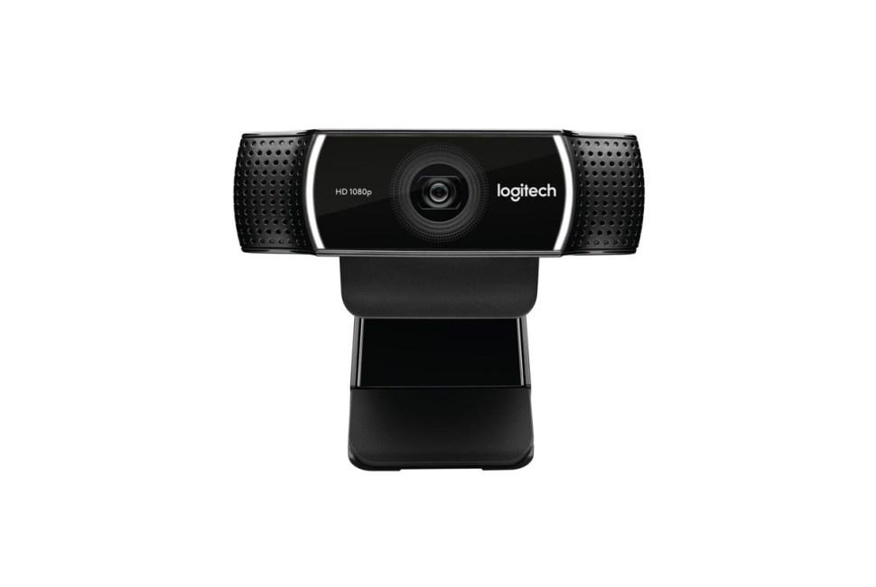 La webcam Logitech C922 Pro Stream.